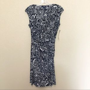 CHAPS Navy Blue Weekend Cottage Dress